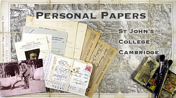 SJC Personal Papers